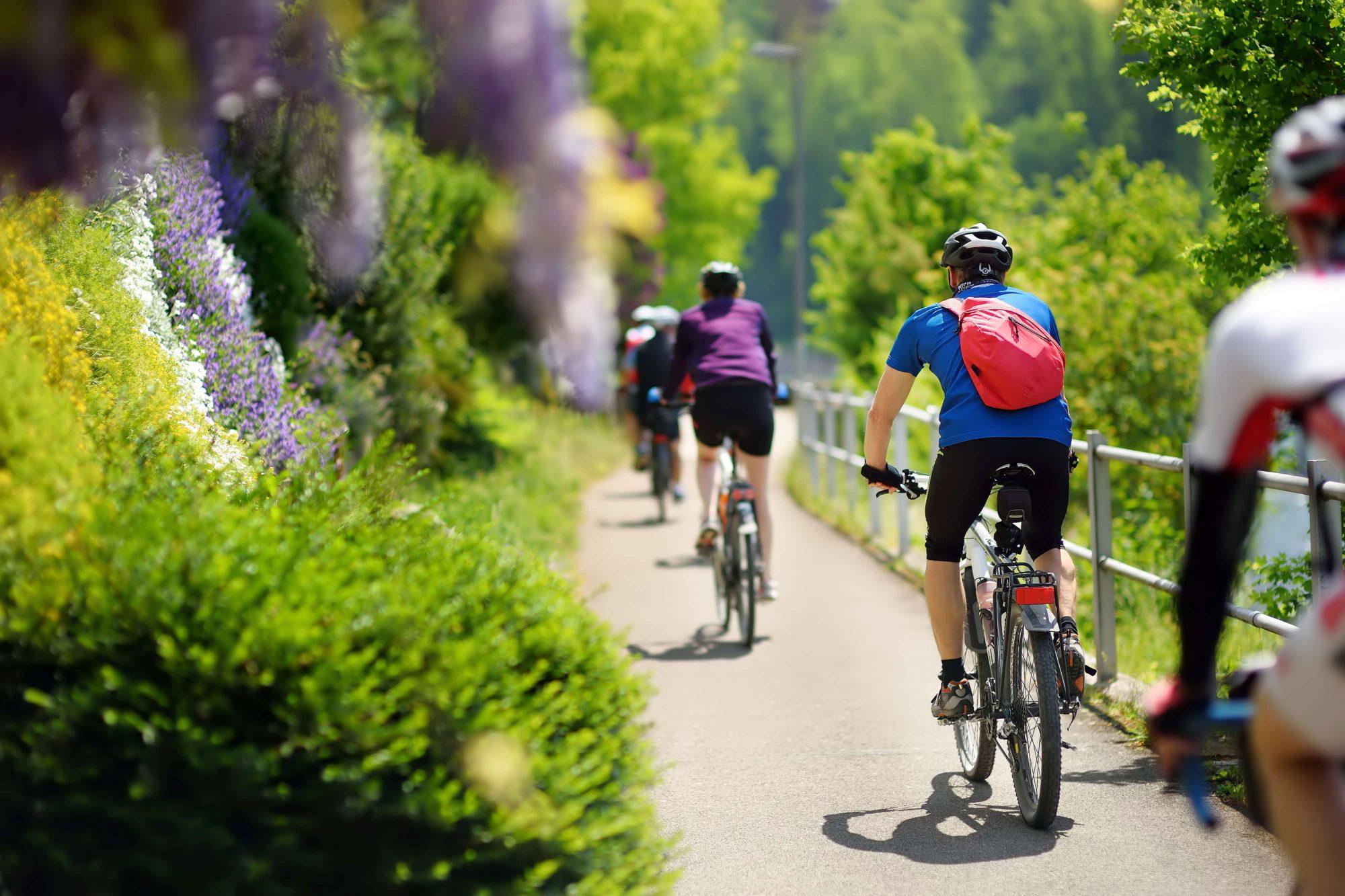 Fahrradtourismus-Fahrradtour ins Havelland