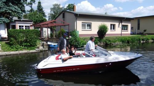 Bootsausflug mit Pensionsgästen